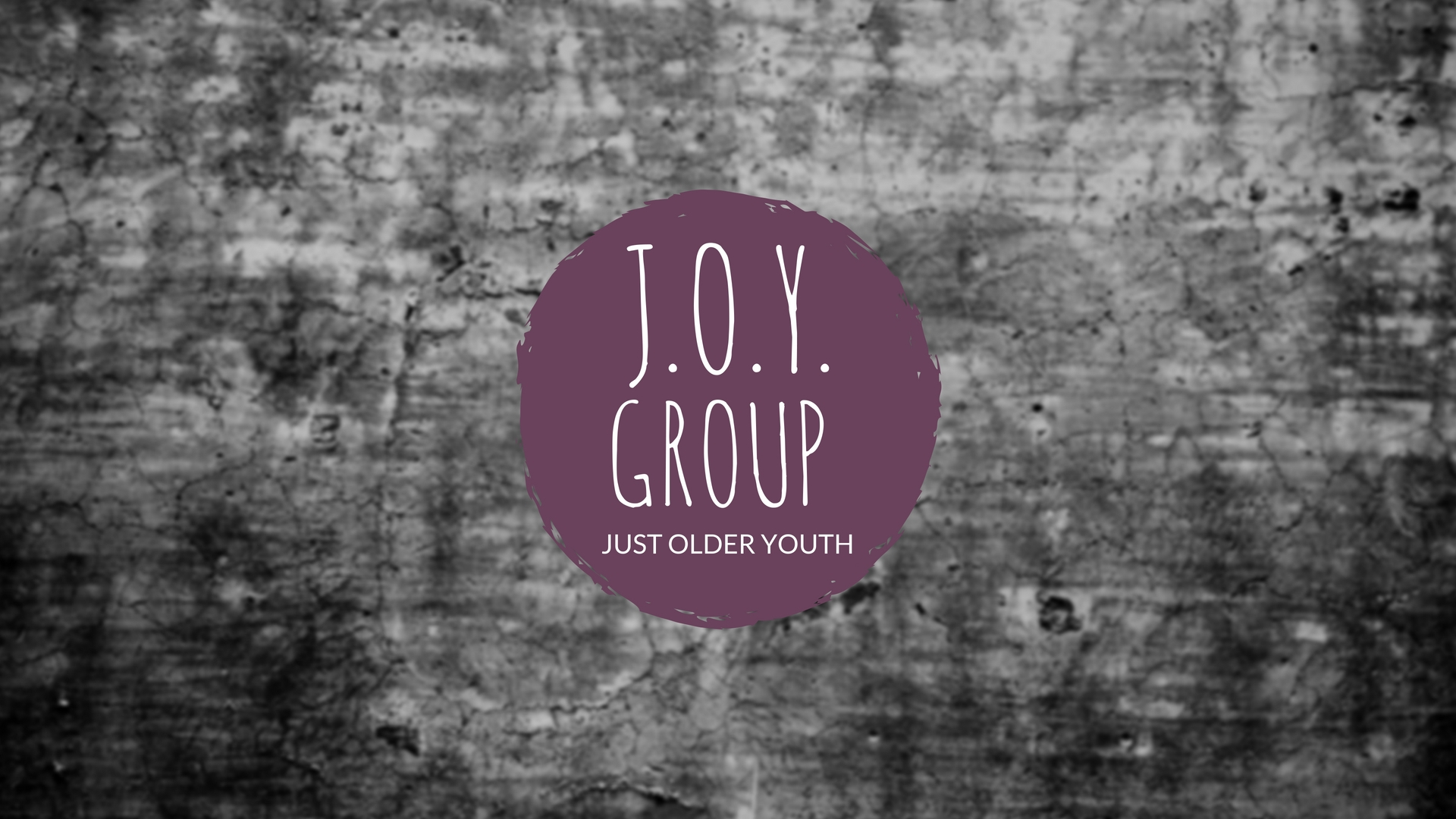 J.O.Y. Group Fellowship